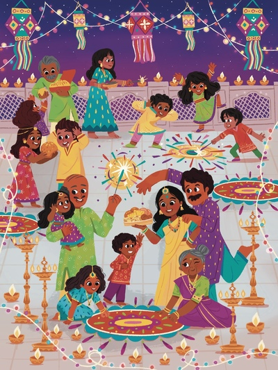 family-diwali-sample