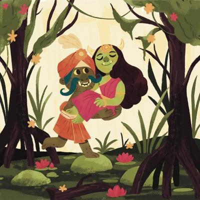 swamp-prince-and-princess