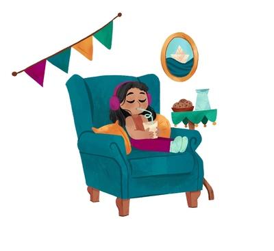 girl-relaxing