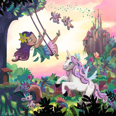 fairy-faerie-unicorn-horse-woods-forest-magic-by-evelt-yanait-jpg