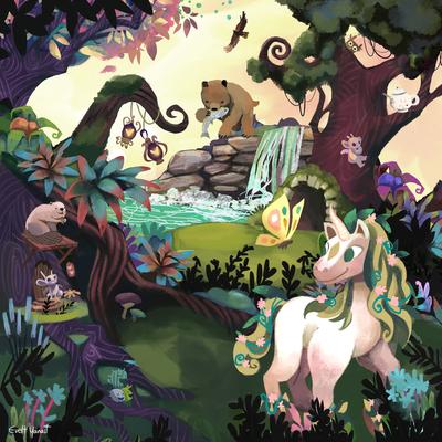 nature-unicorn-woods-forest-magic-animals-bear-myth-by-evelt-yanait-jpg