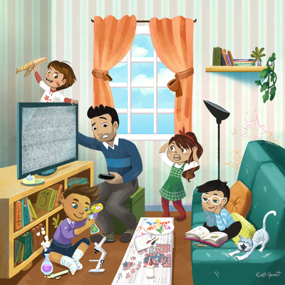 kids-children-funny-playing-naughty-playful-mess-dad-parents-father-disorder-room-by-evelt-yanait-jpg