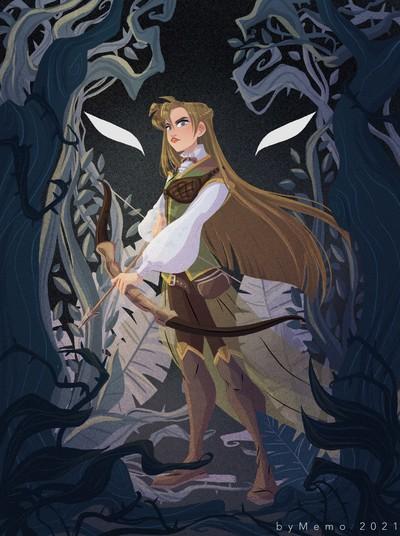 girl-archer-fairytale