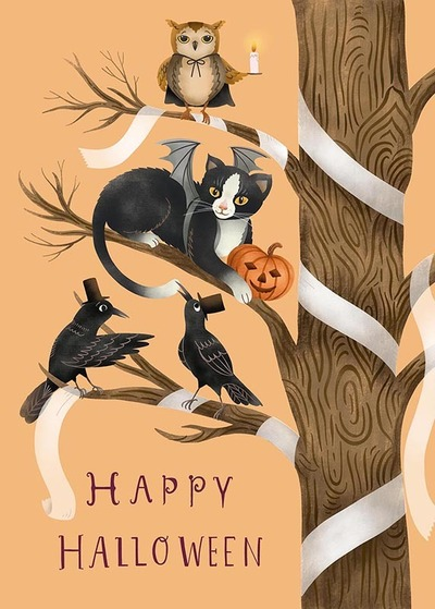 halloween-cat-owl-and-crows-jpg