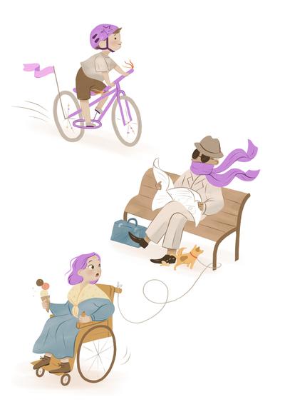 girl-purple-mother-daughter-boy-bicykle-store-street-city-sign-bakery-jpg