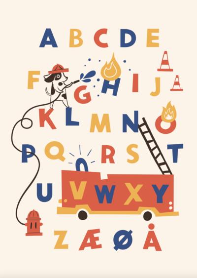 alphabeth-handlettering-firefighter-dog-car-fireman-jpg