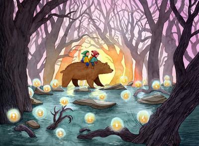 bear-twins-boys-swamp-willothewisp-dusk-jpg
