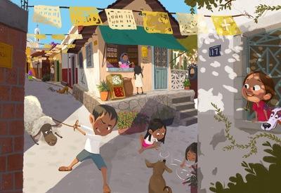 boy-girls-sheep-dog-pueblo-mexicanculture-jpeg