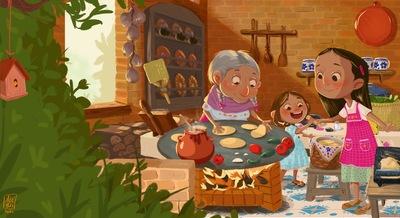 grandma-girls-mexicanculture-jpeg