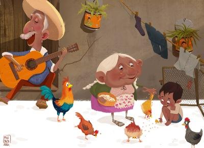 oldman-oldwoman-boy-chiken-mexicanculture-jpeg