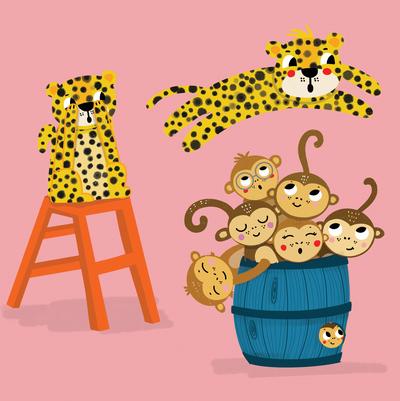 leaping-leopards-monkeys