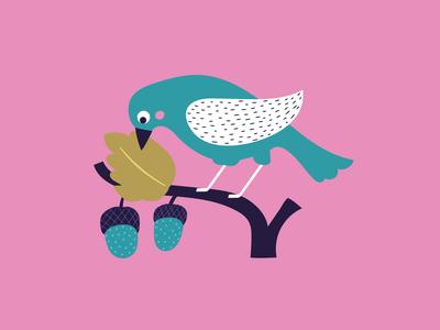 ap-decorative-bird-on-branch-pink-floral-greeting-card-01-jpg
