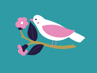 ap-decorative-bird-on-branch-turquoise-floral-greeting-card-01-jpg