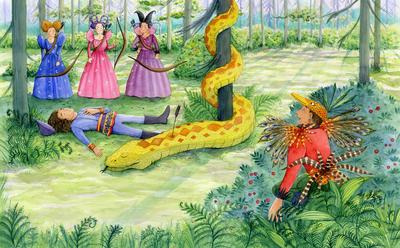estelle-corke-fairytale-prince-fairies-snake-jpg