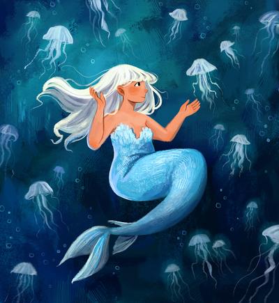 mermaidwithjellyfish-jpg