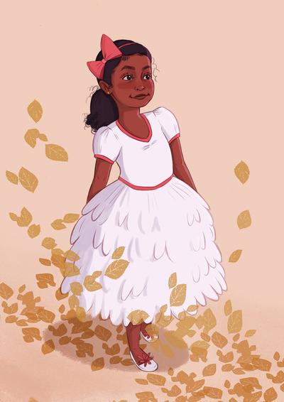 jasmine-girl-autumn-leave-dress-png