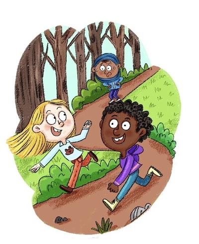 kids-playing-woods