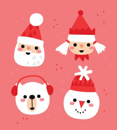 santa-elf-snowman-polar-bear-01-jpg