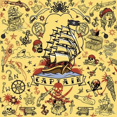 pirate-pattern-snakes-daggers-guns-ships-traditional-tattoo-flash-jpg