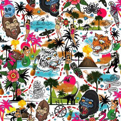 the-land-that-time-forgot-map-hidden-treasure-dinosaurs-kong-bigfoot-sea-monsters-traditional-pin-ups-mermaids-adventure-jpg