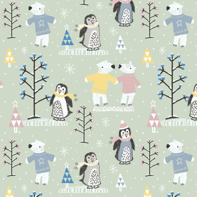 bear-and-penguin-pattern