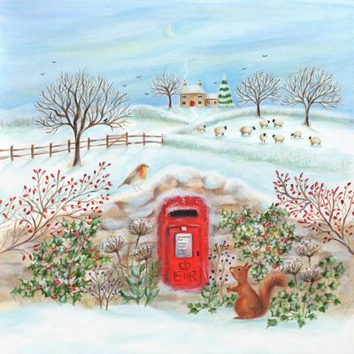 christmas-postbox-robin-squirrel-sheep-house-snow-holly-winter-jpg