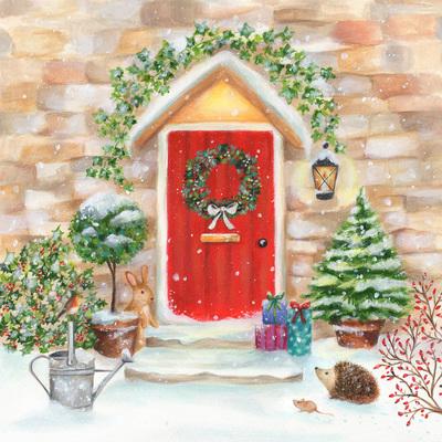 christmas-wreath-door-rabbit-hedgehog-mouse-robin-presents-snow-holly-ivy-jpg