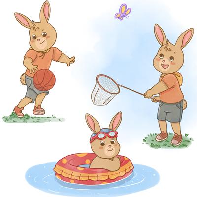rabbit-kids-basketball-batterfly-swimming-jpg